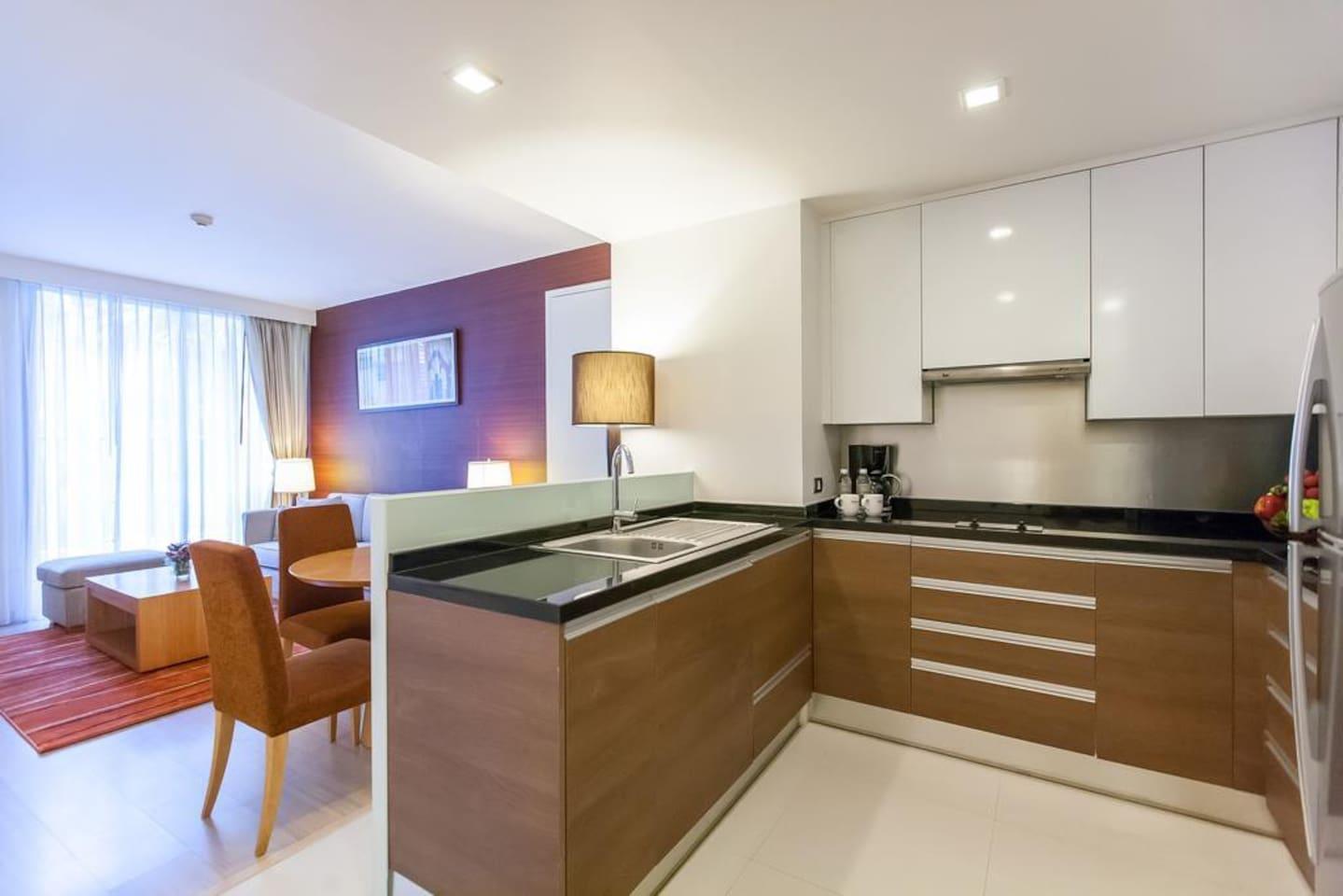 Stylish 1 Bedroom Apartment @Phrom Phong BTS อพาร์ตเมนต์ 1 ห้องนอน 1 ห้องน้ำส่วนตัว ขนาด 52 ตร.ม. – สุขุมวิท