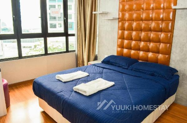 I City @ I Soho 2 BEDROOMS @Yuuki Homestay (004A) Shah Alam