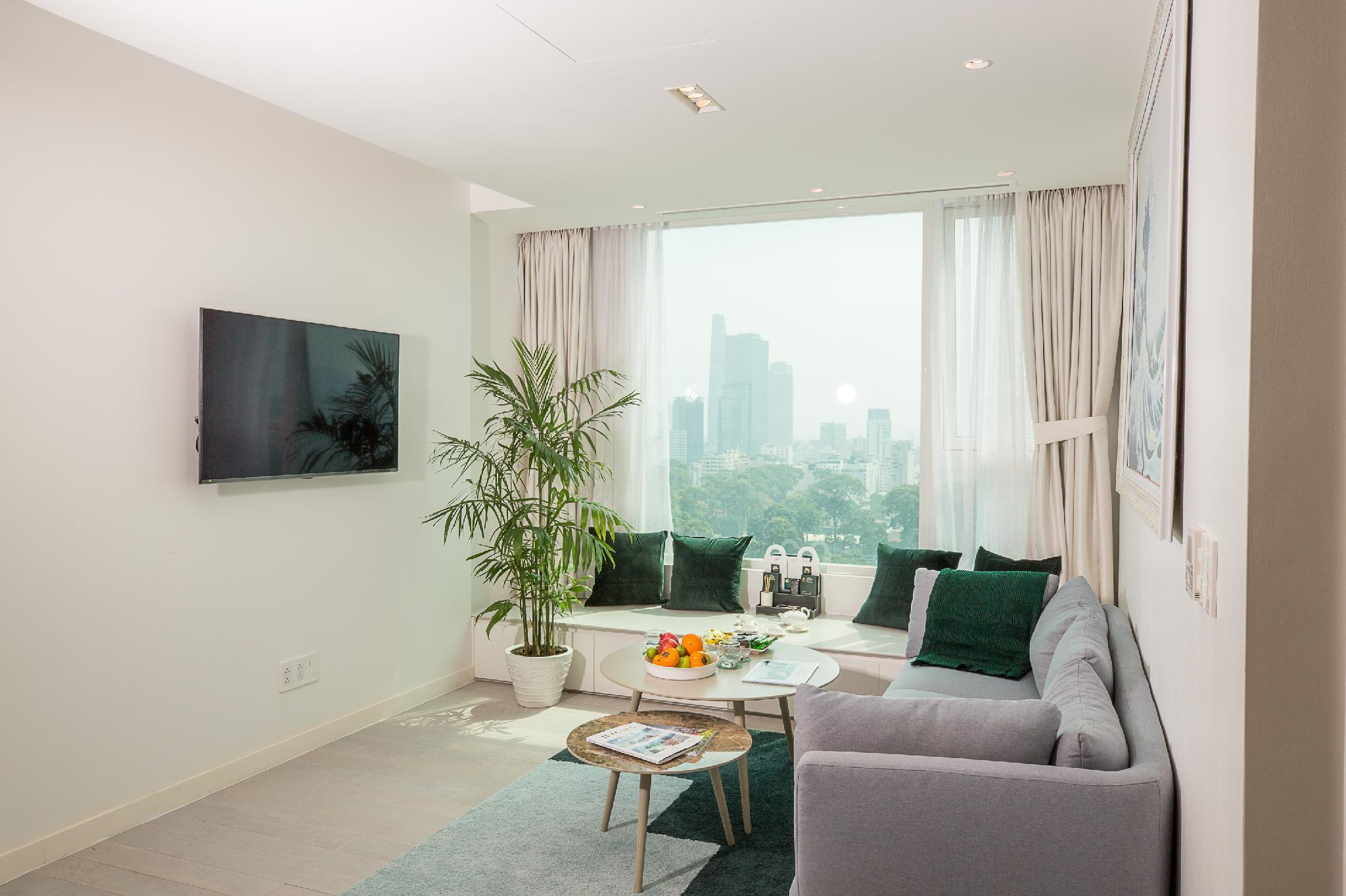 2 Bedroom Suite For 4 People With Rooftop Pool