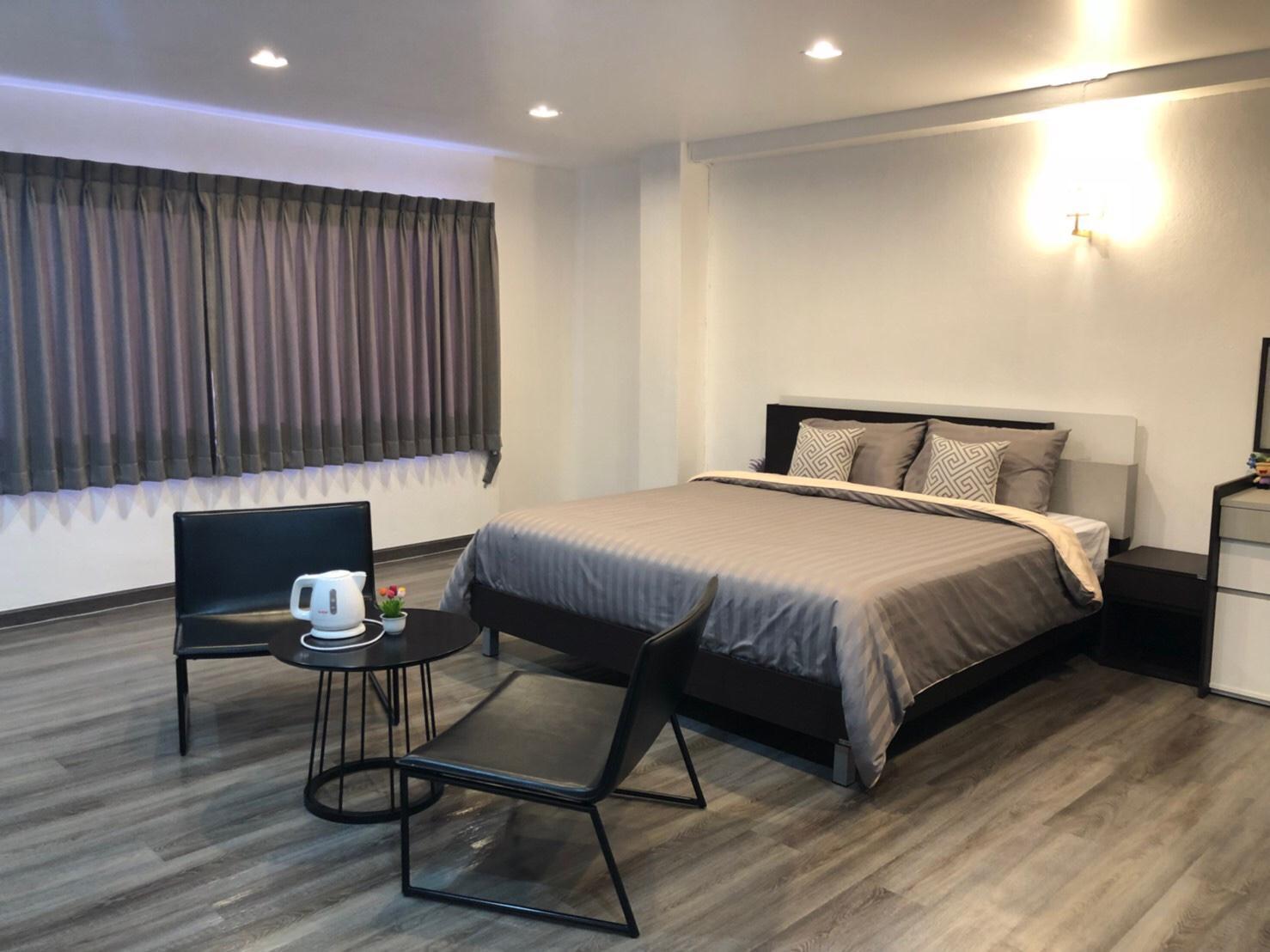 Best and cheap private room near Khaosan! 401 สตูดิโอ อพาร์ตเมนต์ 1 ห้องน้ำส่วนตัว ขนาด 17 ตร.ม. – เยาวราช