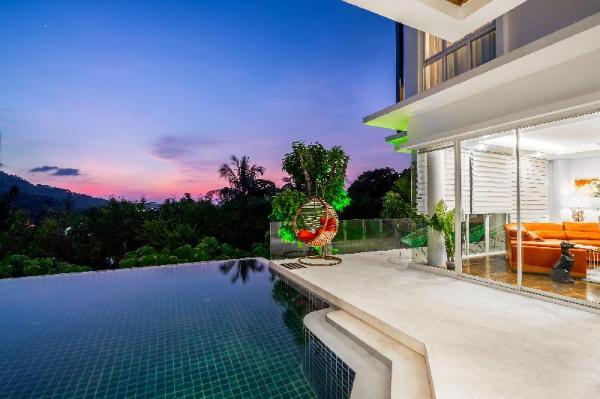 KATA sunny sea view villa Phuket