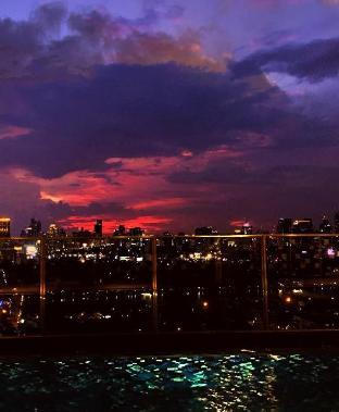 [スクンビット]アパートメント(48m2)| 1ベッドルーム/1バスルーム 38fl good view of Bangkok CBD/50fl Skypool/BTS EM