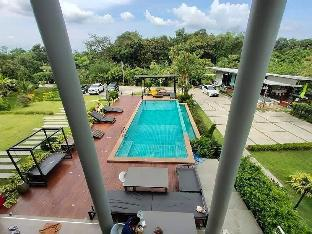 [マッカーム]一軒家(100m2)| 4ベッドルーム/6バスルーム Baan Thaluang Pool Villa