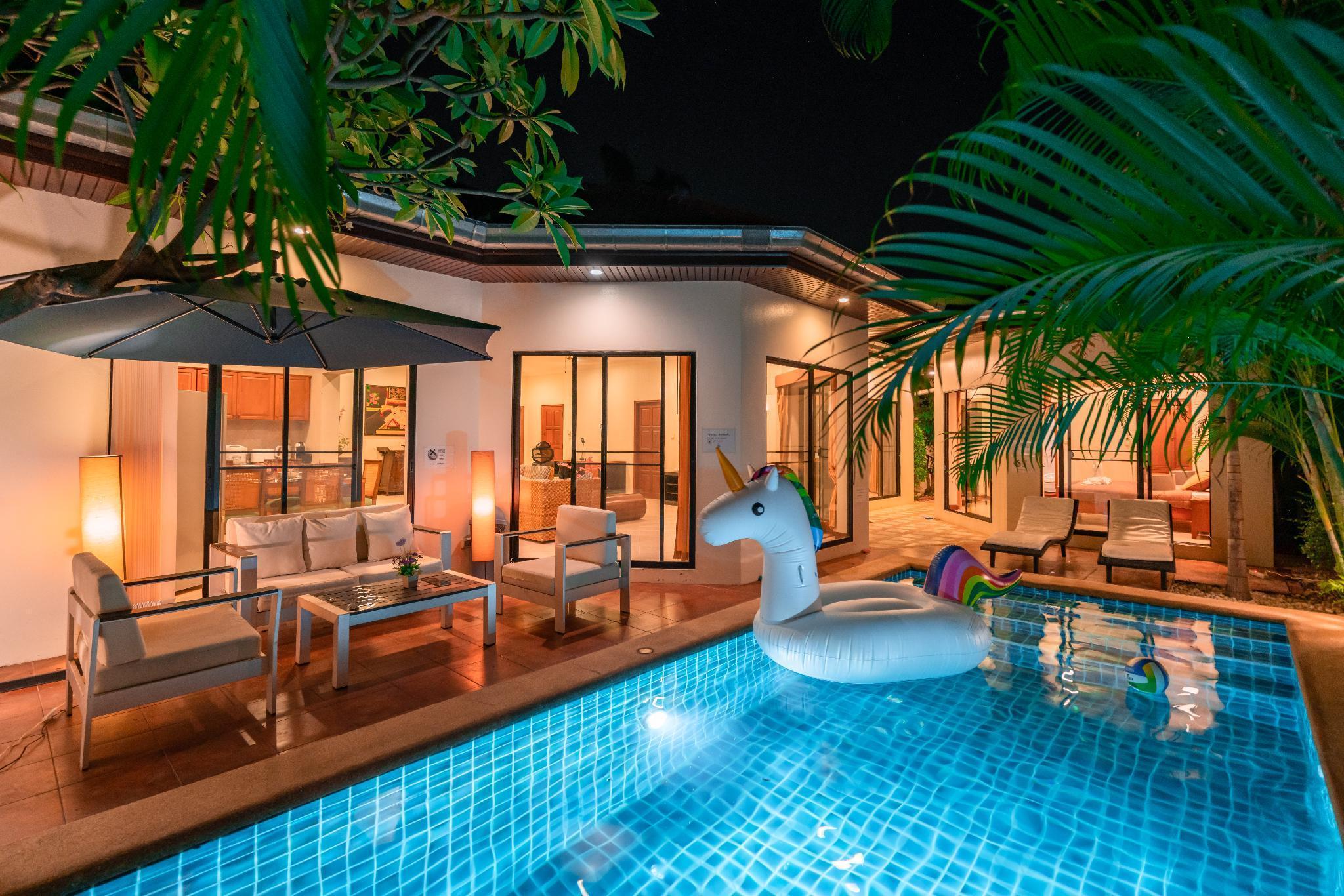 view talay villas,jomtien beach 500M วิลลา 4 ห้องนอน 3 ห้องน้ำส่วนตัว ขนาด 300 ตร.ม. – หาดจอมเทียน