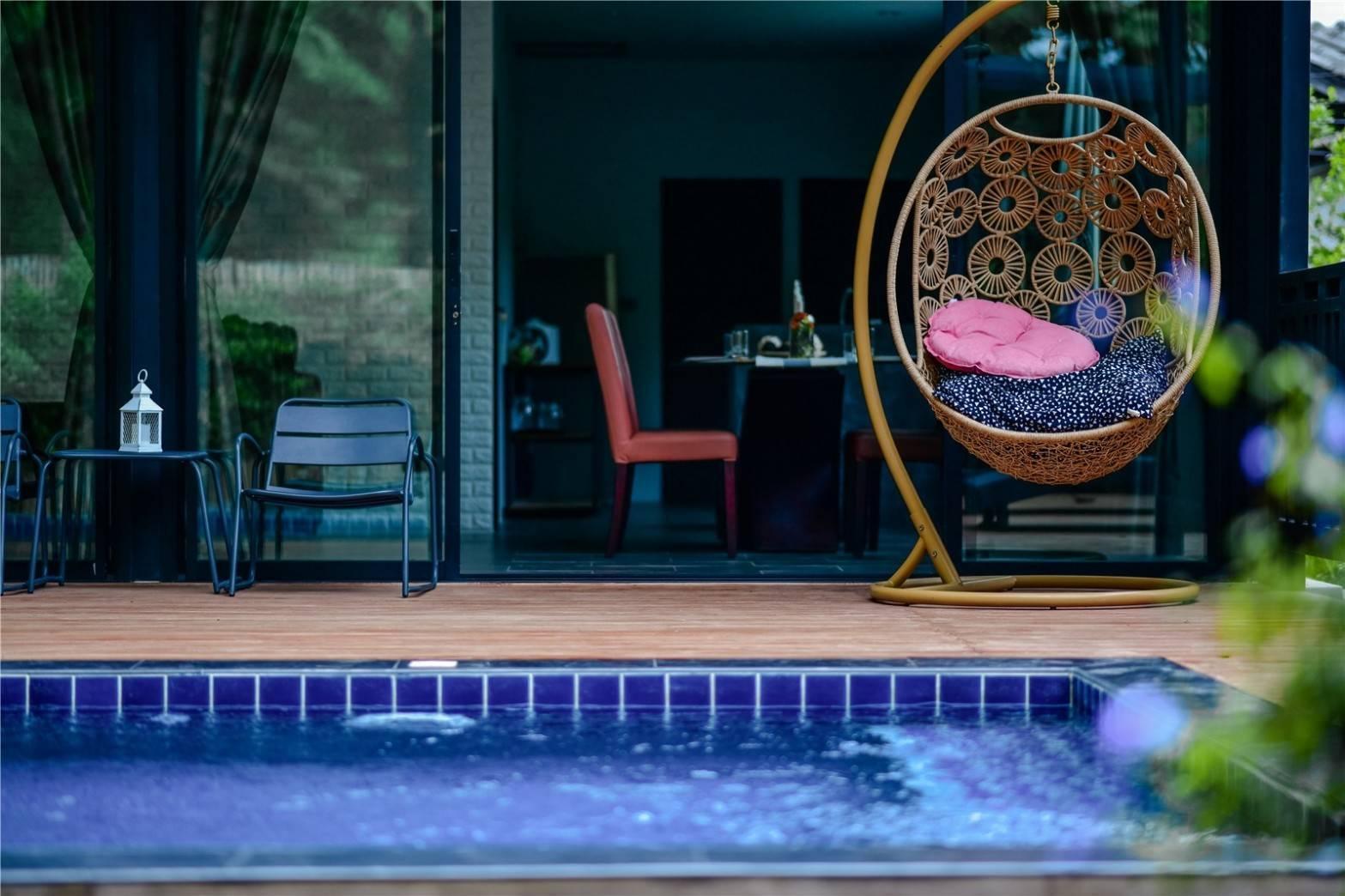 Brick Box Pool Villa วิลลา 1 ห้องนอน 1 ห้องน้ำส่วนตัว ขนาด 200 ตร.ม. – ดอยสะเก็ด