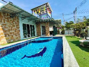 [ボーファイ]一軒家(120m2)| 3ベッドルーム/2バスルーム 3 Bedroom Rachaneekon House Pool Villa