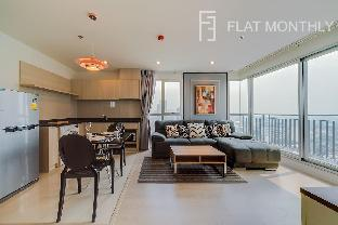 2 BR near BTS Chong Nonsi/ Sathorn by FlatMonthly อพาร์ตเมนต์ 2 ห้องนอน 2 ห้องน้ำส่วนตัว ขนาด 70 ตร.ม. – สุขุมวิท