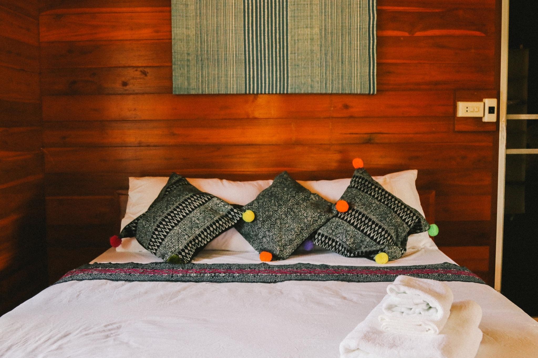 Huanleela Lanna 3 วิลลา 1 ห้องนอน 1 ห้องน้ำส่วนตัว ขนาด 32 ตร.ม. – สันผีเสื้อ
