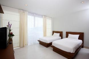 [カタ]一軒家(35m2)| 1ベッドルーム/1バスルーム 1 bed room with 2 single beds in Kata Beach B8
