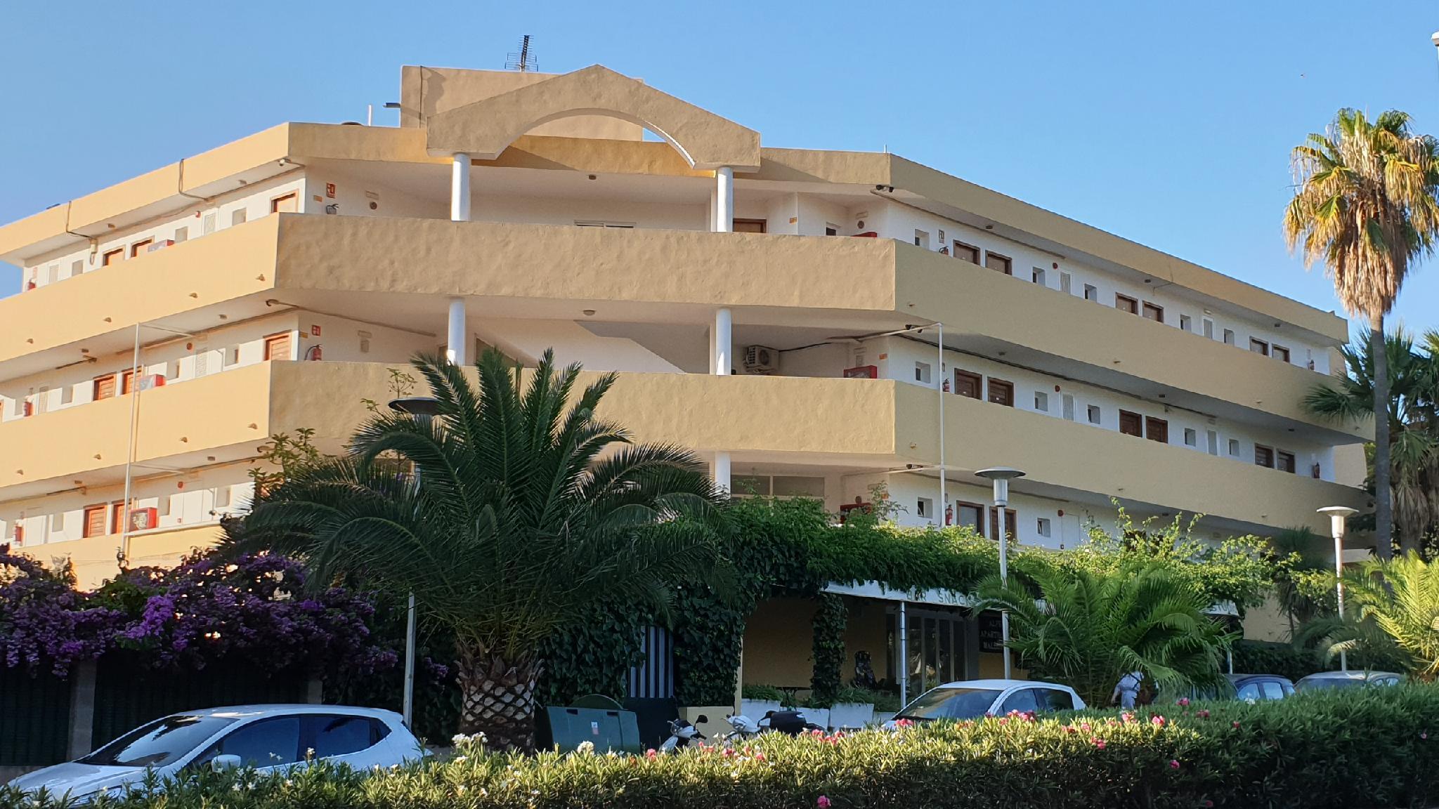 Los apartamentos del complejo,ideal para viajeros