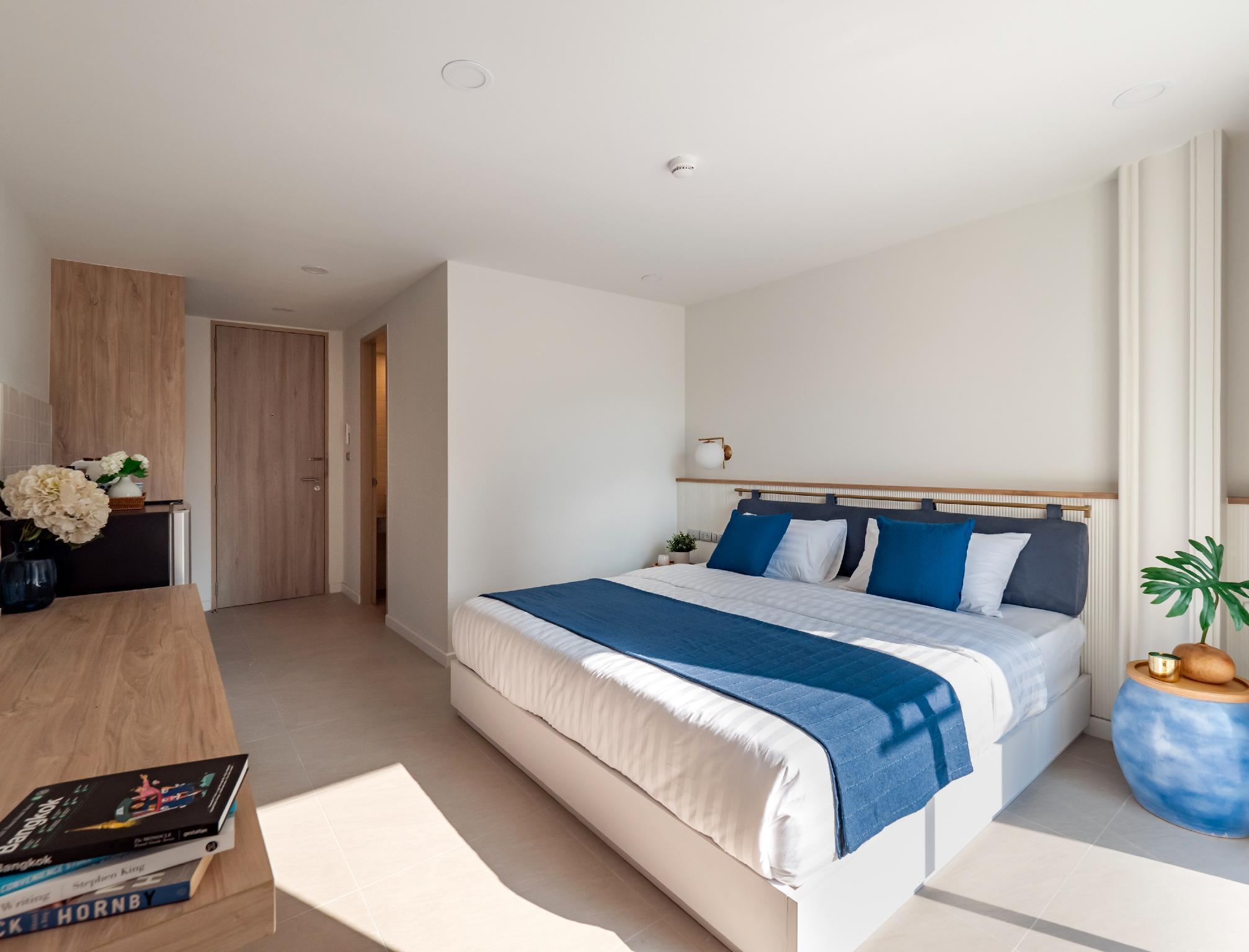 BLU395 /207 Room อพาร์ตเมนต์ 1 ห้องนอน 1 ห้องน้ำส่วนตัว ขนาด 27 ตร.ม. – จตุจักร