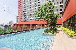 [Ratchada]アパートメント(30m2)| 1ベッドルーム/1バスルーム [hiii]Aqua Topaz|InfinityPool|AirportLink-BKK226