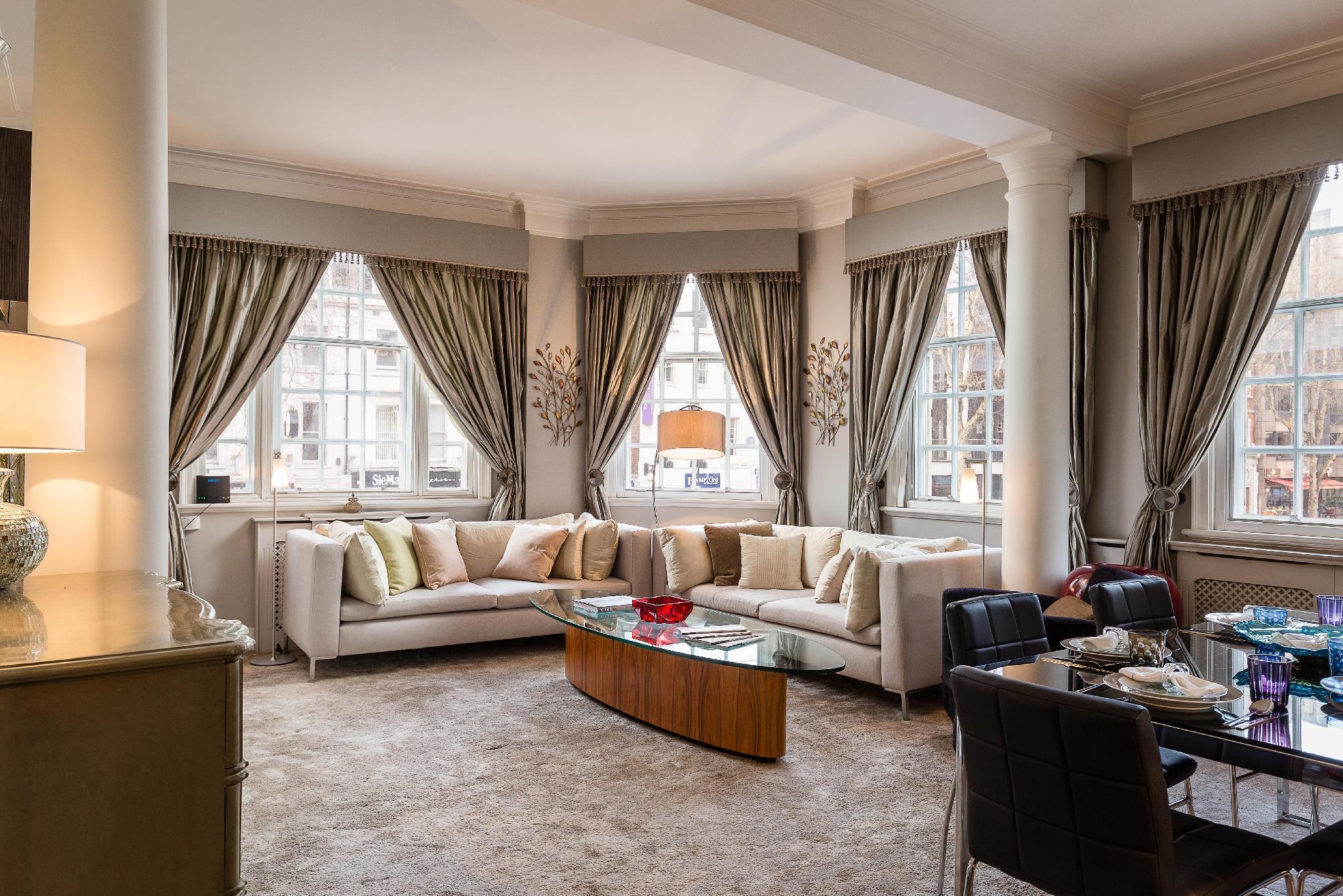 Air condition Knightsbridge 2-bedroom suite
