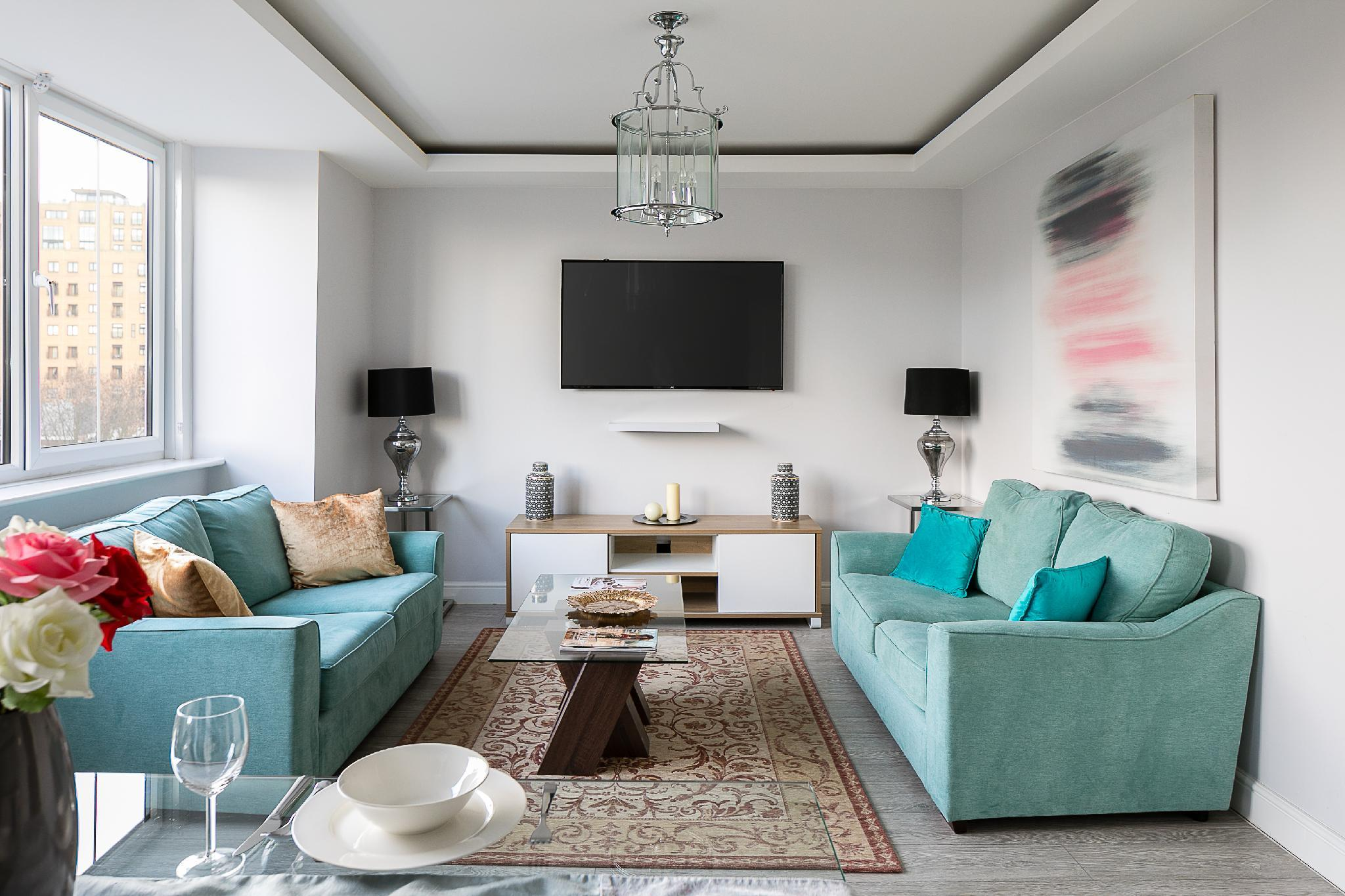 Penthouse brand new on Cromwell road