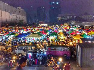 [Ratchada]アパートメント(23m2)| 1ベッドルーム/1バスルーム Soi Ratchadaphisek 14 ,Close MRT Huai khwang(23)