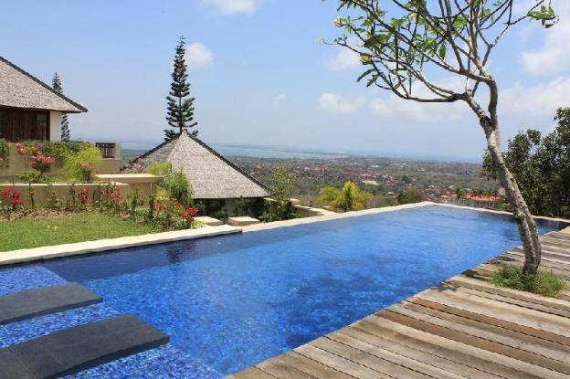 Private Pool  1BR Overlooking the Garden and Sea
