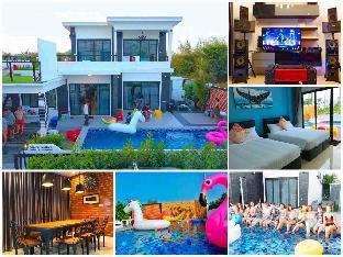 [ボーファイ]ヴィラ(350m2)| 5ベッドルーム/3バスルーム Indy Hip Huahin Pool Villa