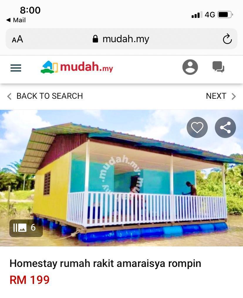 Homestay Rumah Rakit AmarAisya Rompin