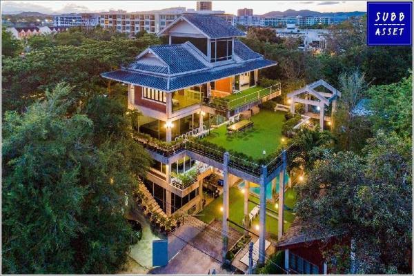 Modern Loft Villa for 26 Person | 50m to the beach Hua Hin