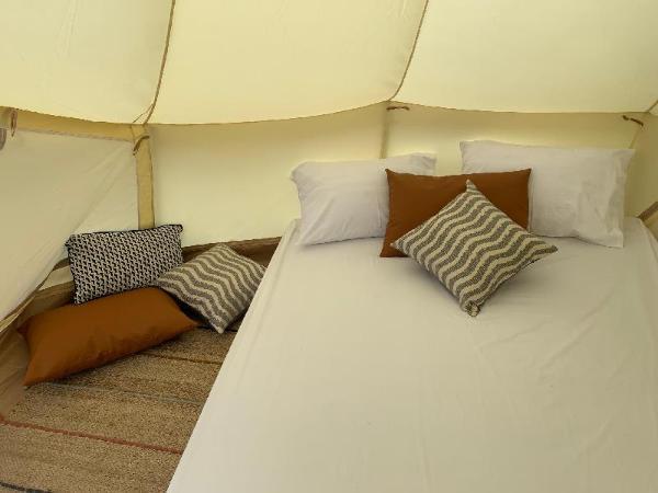 Beautiful bell tent with Mountain View Khao Yai