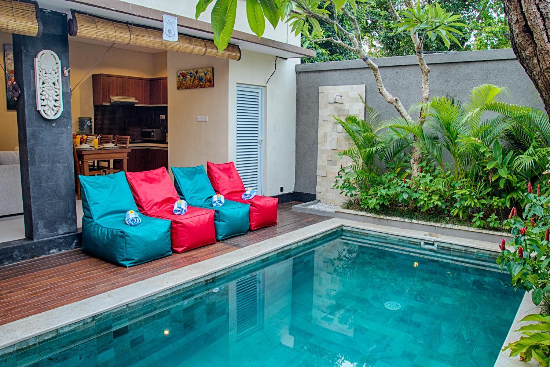 NEW   SEMINYAK 2 Bedroom Private Pool Villa