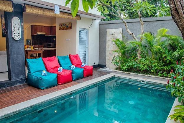 NEW!! SEMINYAK 2 Bedroom Private Pool Villa