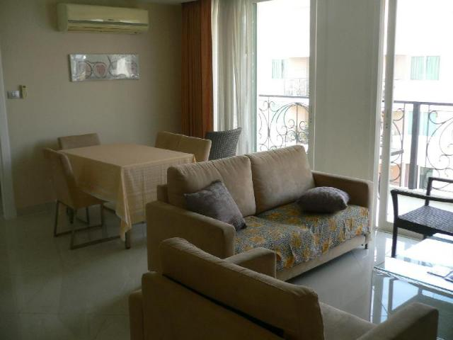 อพาร์ตเมนต์ 2 ห้องนอน 2 ห้องน้ำส่วนตัว ขนาด 70 ตร.ม. – หาดจอมเทียน – Paradise Park Resort