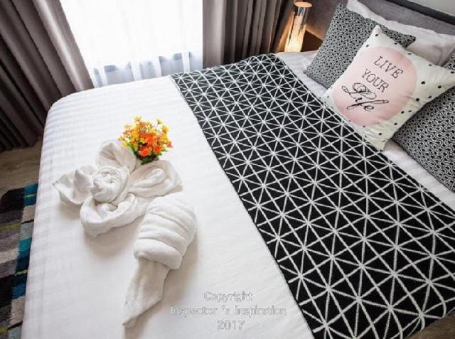 อพาร์ตเมนต์ 1 ห้องนอน 1 ห้องน้ำส่วนตัว ขนาด 30 ตร.ม. – พัทยากลาง – The base Central Pattaya 605