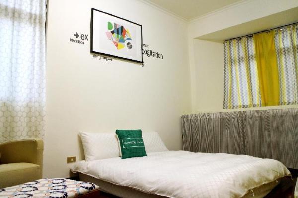 Double room XiTang, MRT Zhongxiao Fuxing Room2 Taipei