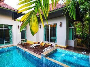 [ナージョムティエン]ヴィラ(150m2)| 2ベッドルーム/2バスルーム AnB pool villa with 2BR close to Jomtien beach