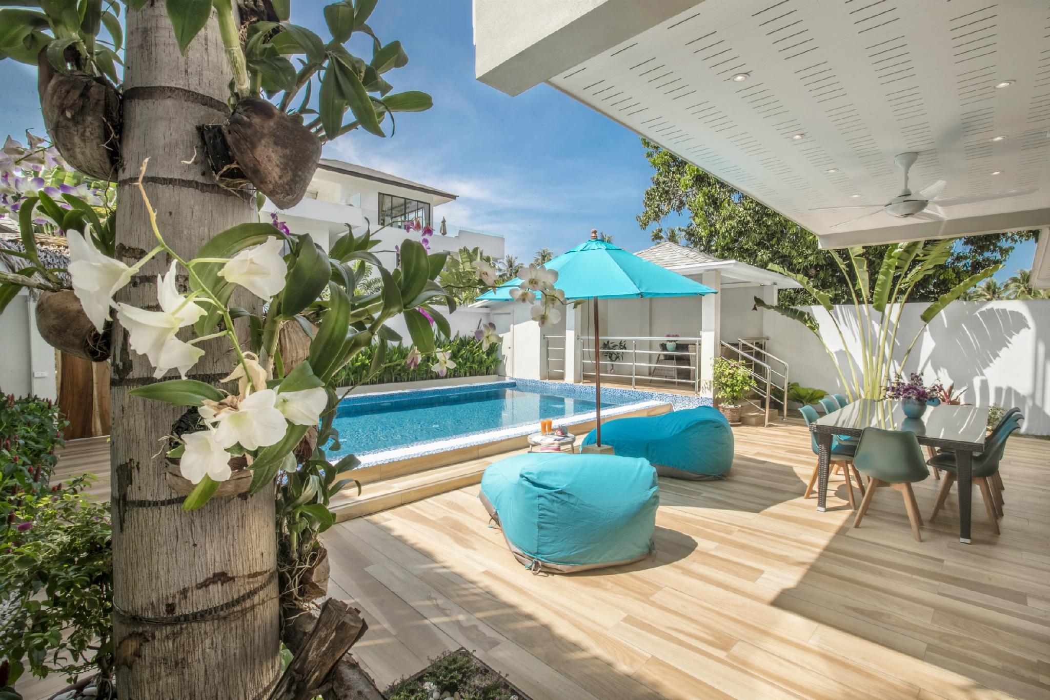 Brand new Villa Colibri In Beachfront Villa Resort