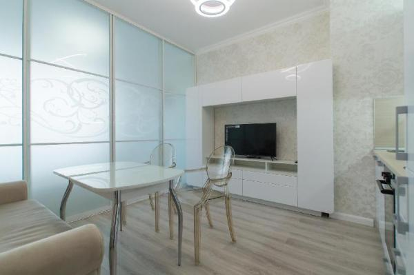 New apartment in a 47-storey skyscraper Moscow