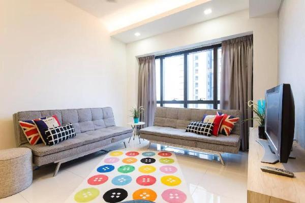 Icon City 3Bedroom Modern Contemporary Comfy Suite Kuala Lumpur