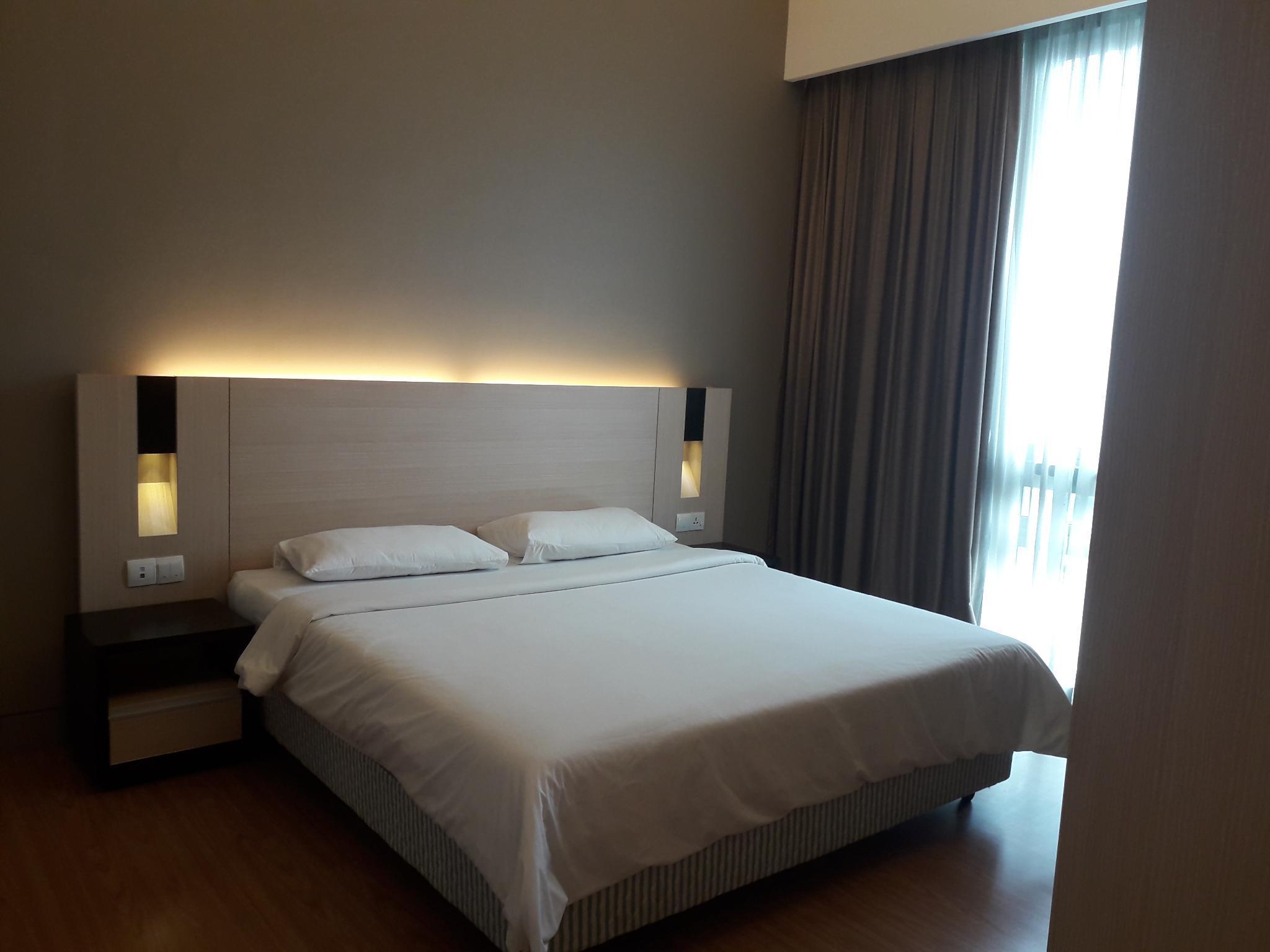 Pangsapuri 650 M2 Dengan 1 Bilik Tidur Dan Mandi Peribadi Di Bukit Bintang