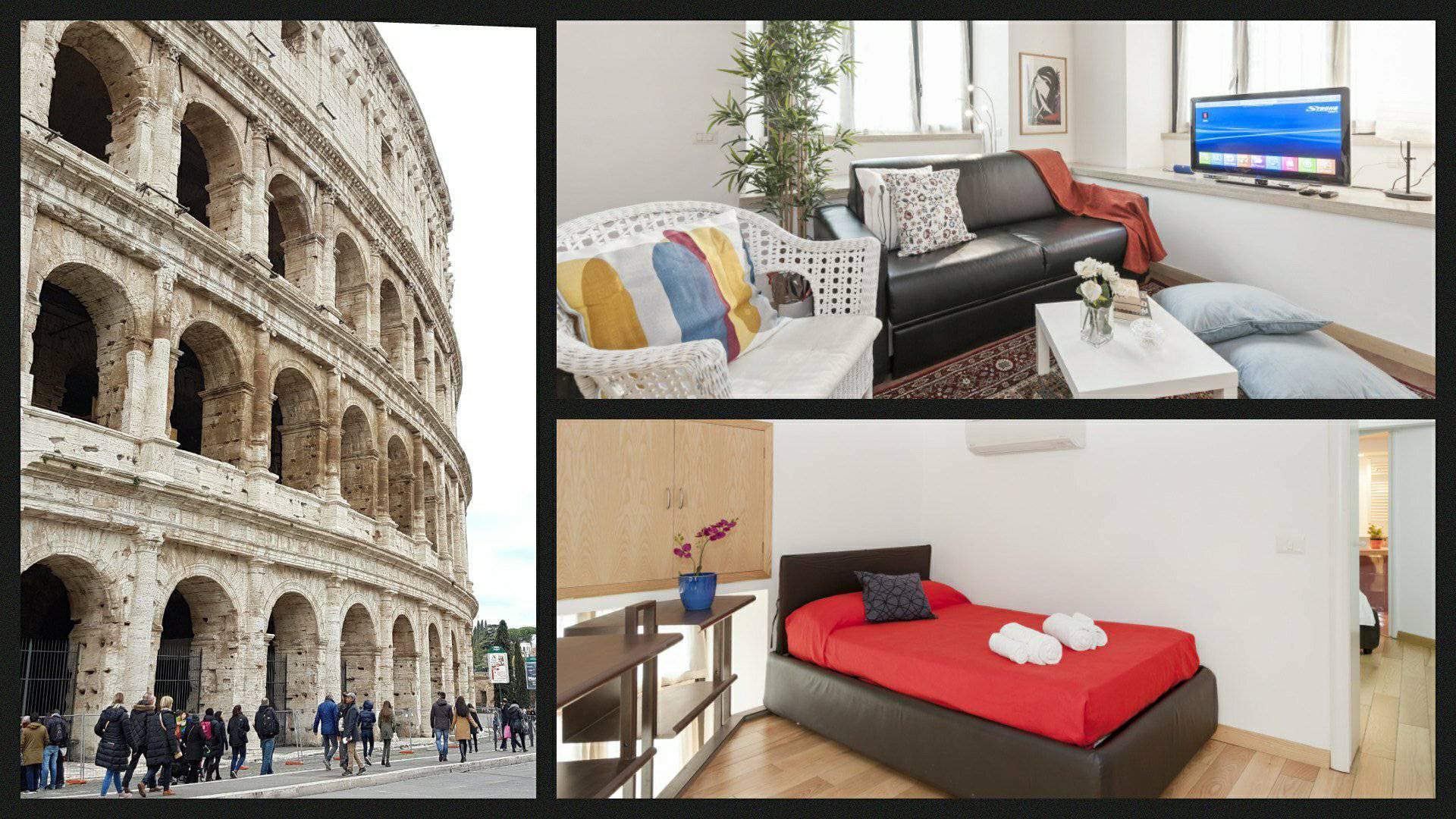 Stylish Loft - Colosseum 4 mins Walk