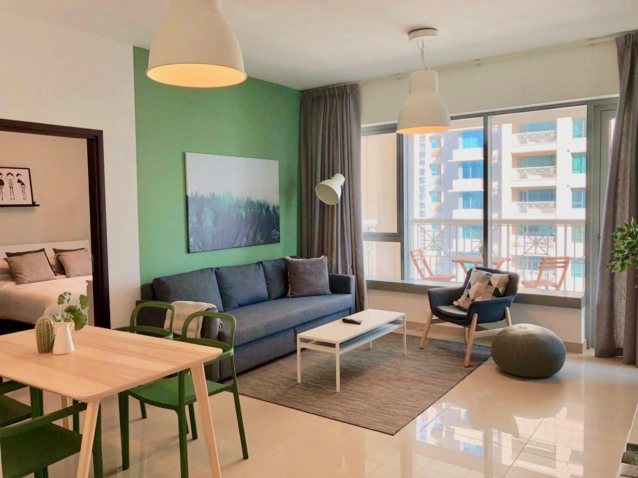 Evergreen {Ease By Emaar}   Stylish One Bedroom