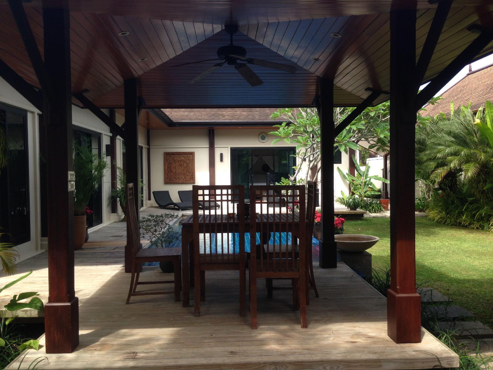 3BR Pool Villa at Laguna Layan Two Villas Oriental 3BR Pool Villa at Laguna Layan Two Villas Oriental
