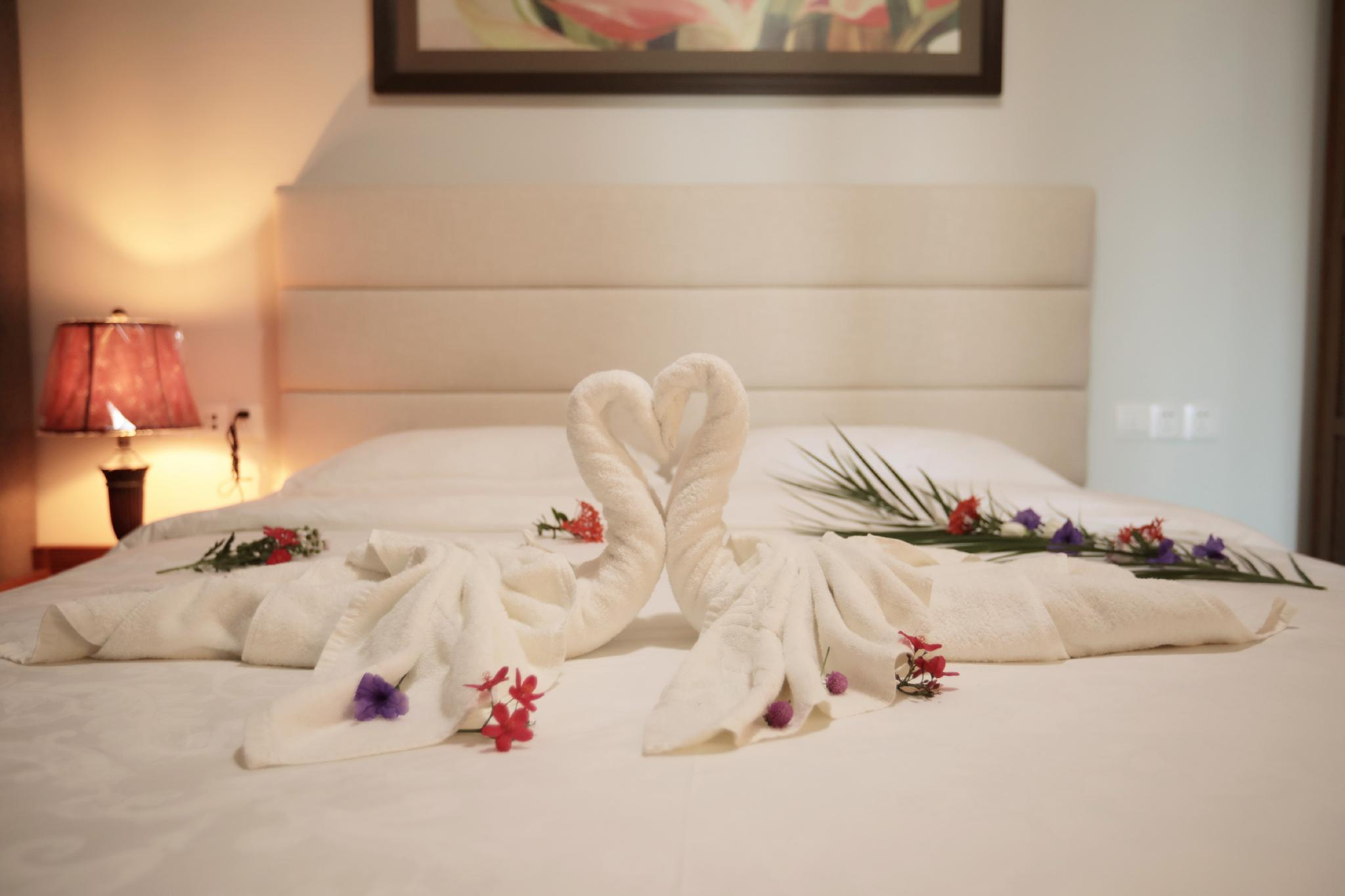 Review Superior garden single bedroom suite