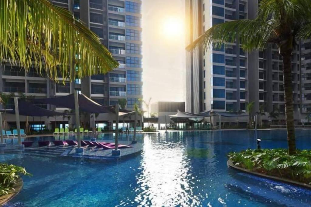 Melaka Atlantis 3bedroom 8 10PAX WIFI