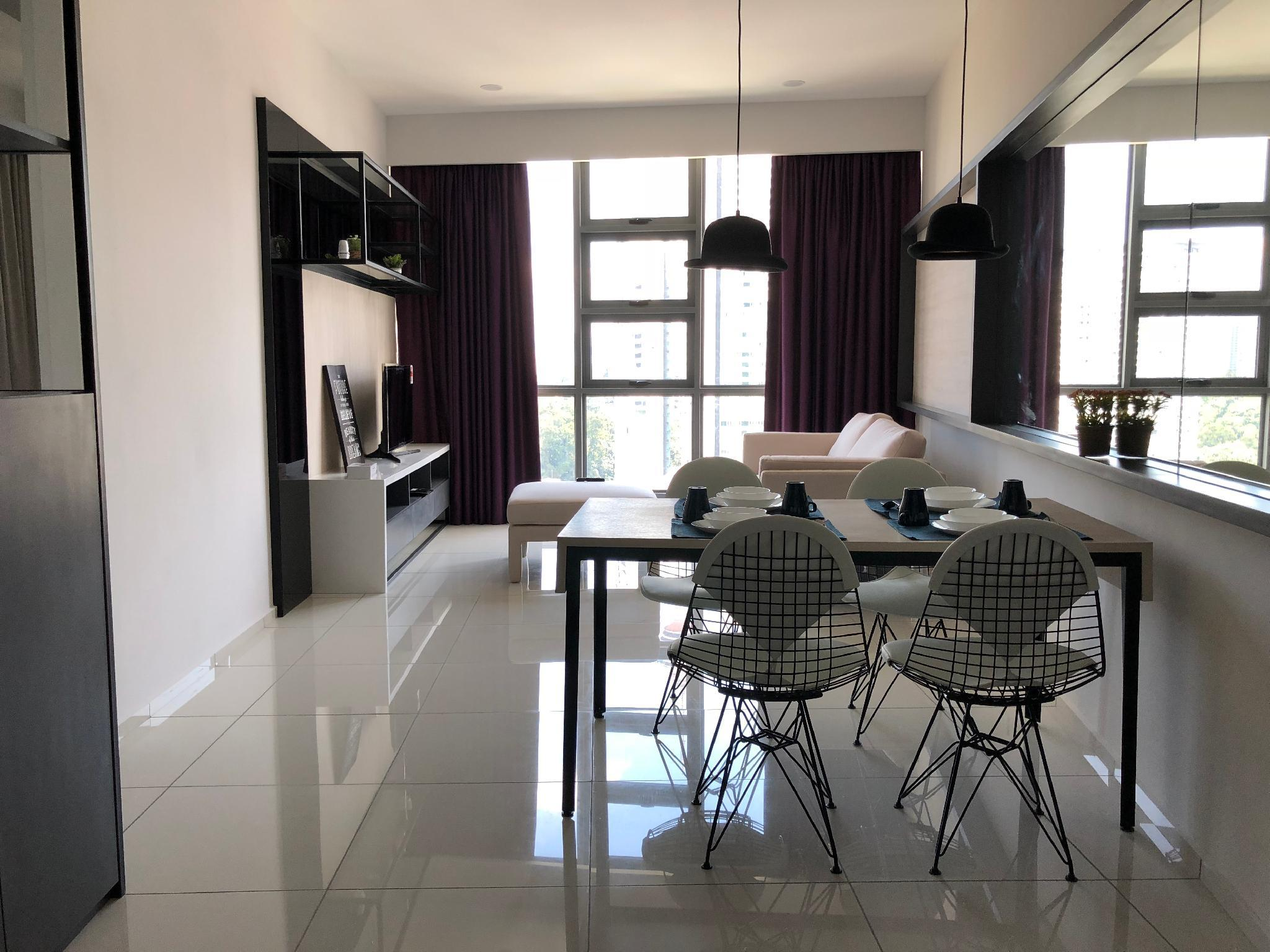 #305 One-Bedroom Studio Collection Bukit Bintang