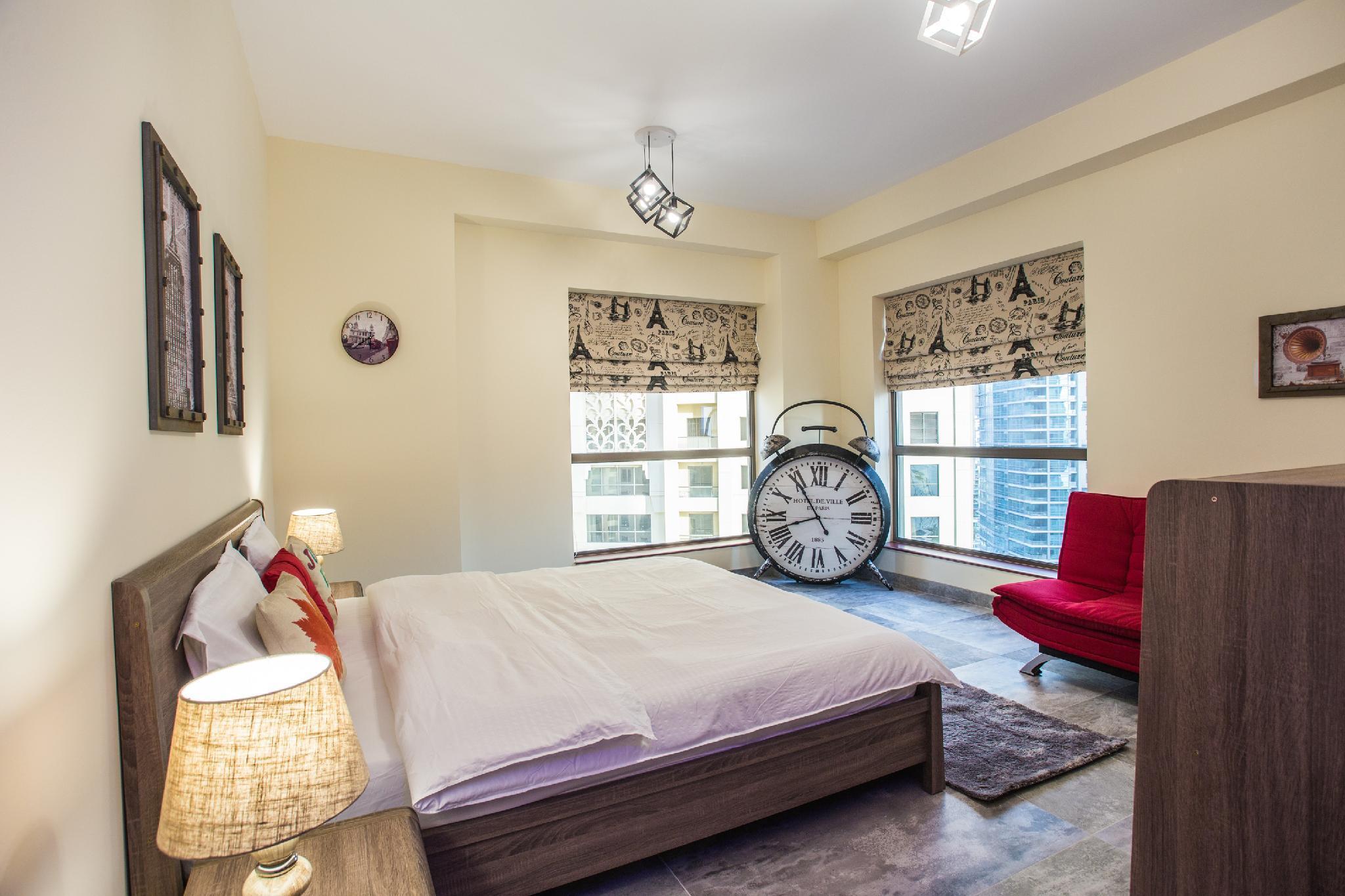 Luxury Beach Design Apartment In Dubai Marina