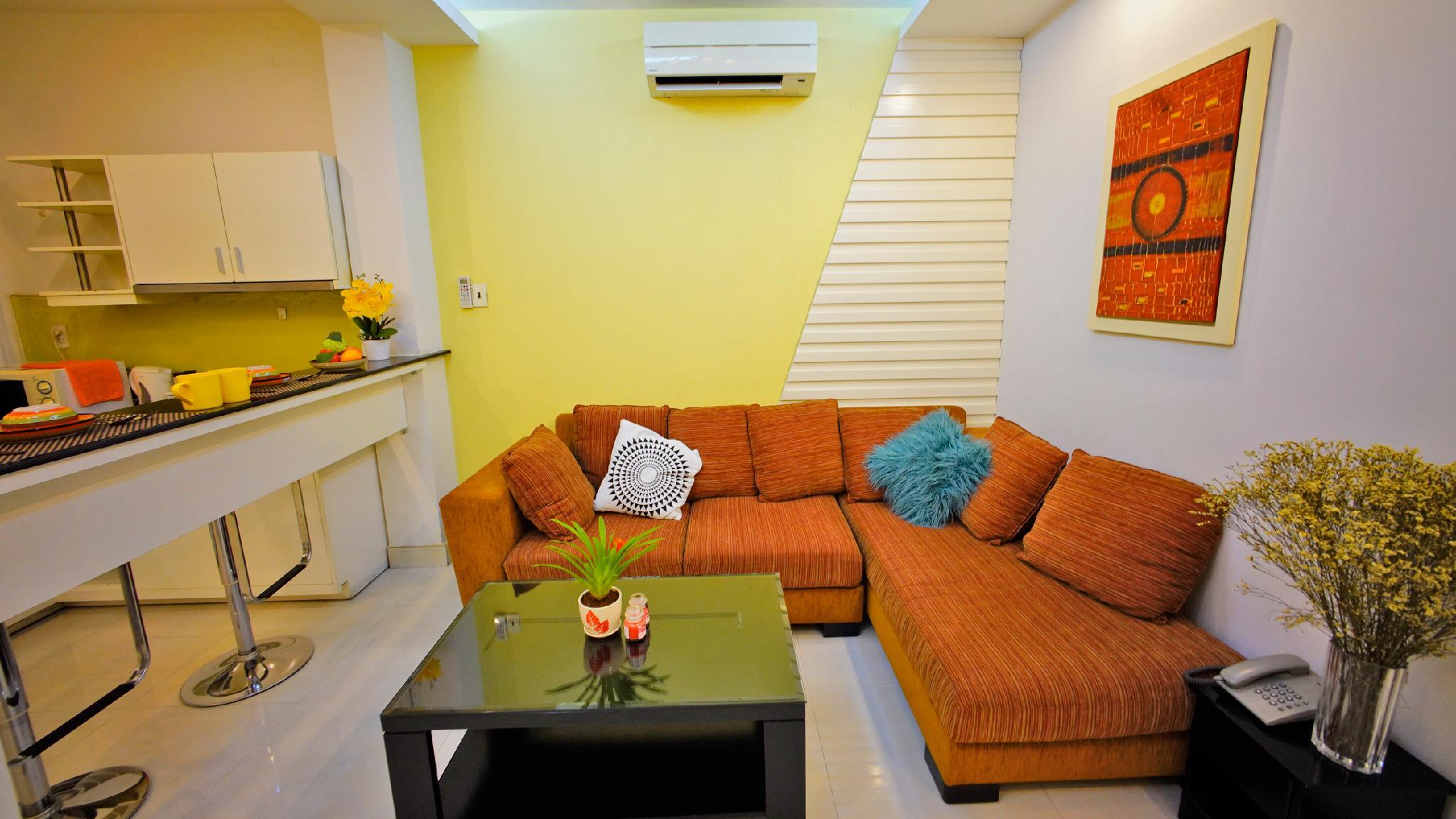 SUNSHINE Large55m2 Nearby BuiVien Central 300m A2