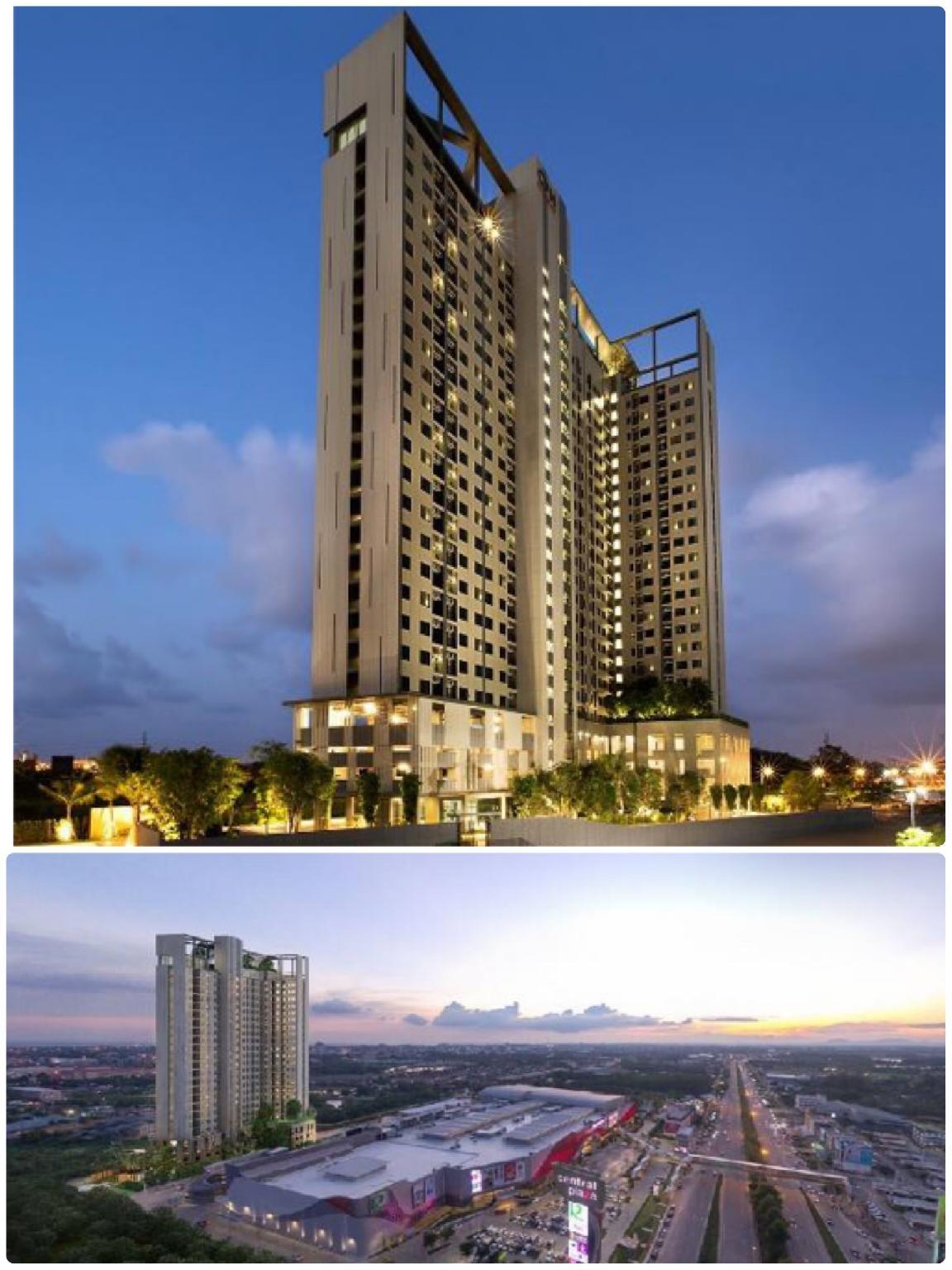Central  Rayong 18 อพาร์ตเมนต์ 1 ห้องนอน 1 ห้องน้ำส่วนตัว ขนาด 40 ตร.ม. – ตัวเมืองระยอง
