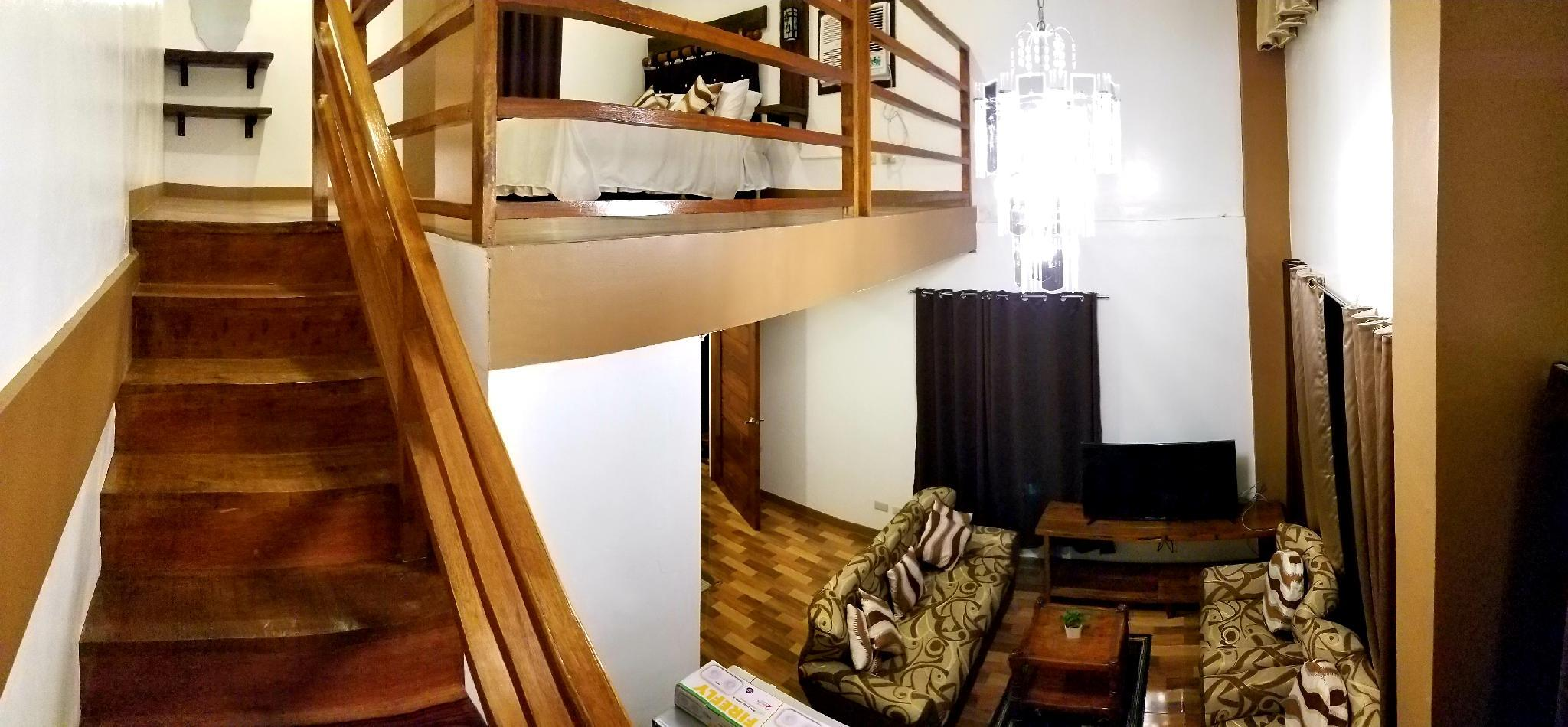 RLoft Suites Tagaytay Room For Rent Hotel Bed 2A.