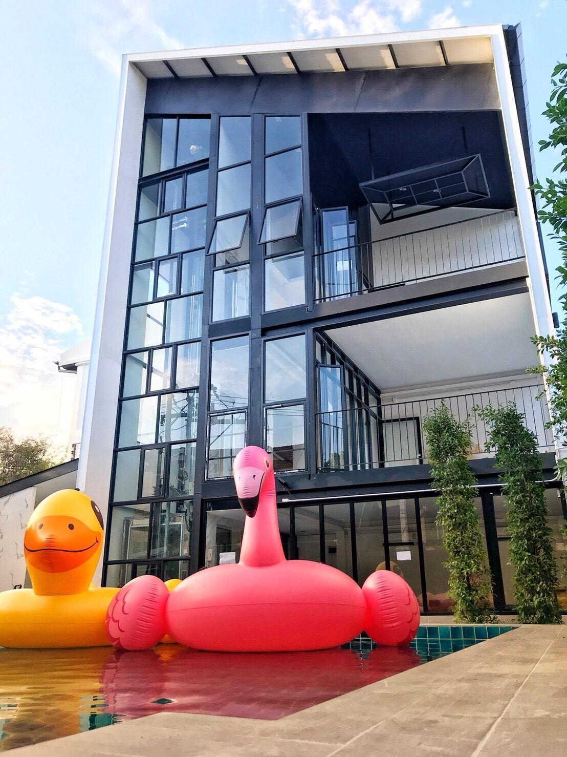The Nimman Apartment NT14 อพาร์ตเมนต์ 1 ห้องนอน 1 ห้องน้ำส่วนตัว ขนาด 22 ตร.ม. – นิมมานเหมินทร์