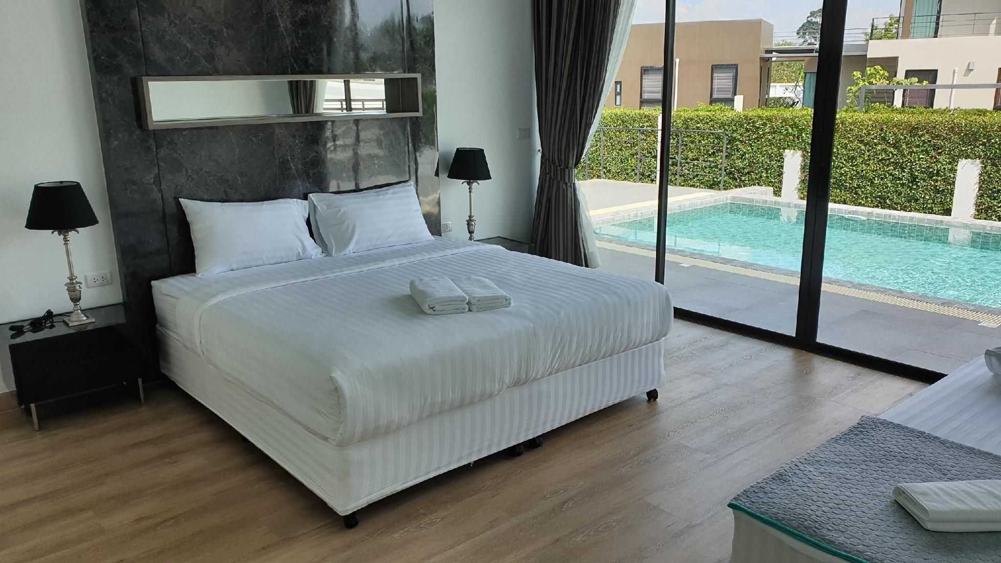 Villa Ozone Pattaya No.37(3Bed,4Bath,Private Pool) วิลลา 3 ห้องนอน 4 ห้องน้ำส่วนตัว ขนาด 445 ตร.ม. – บางสเหร่
