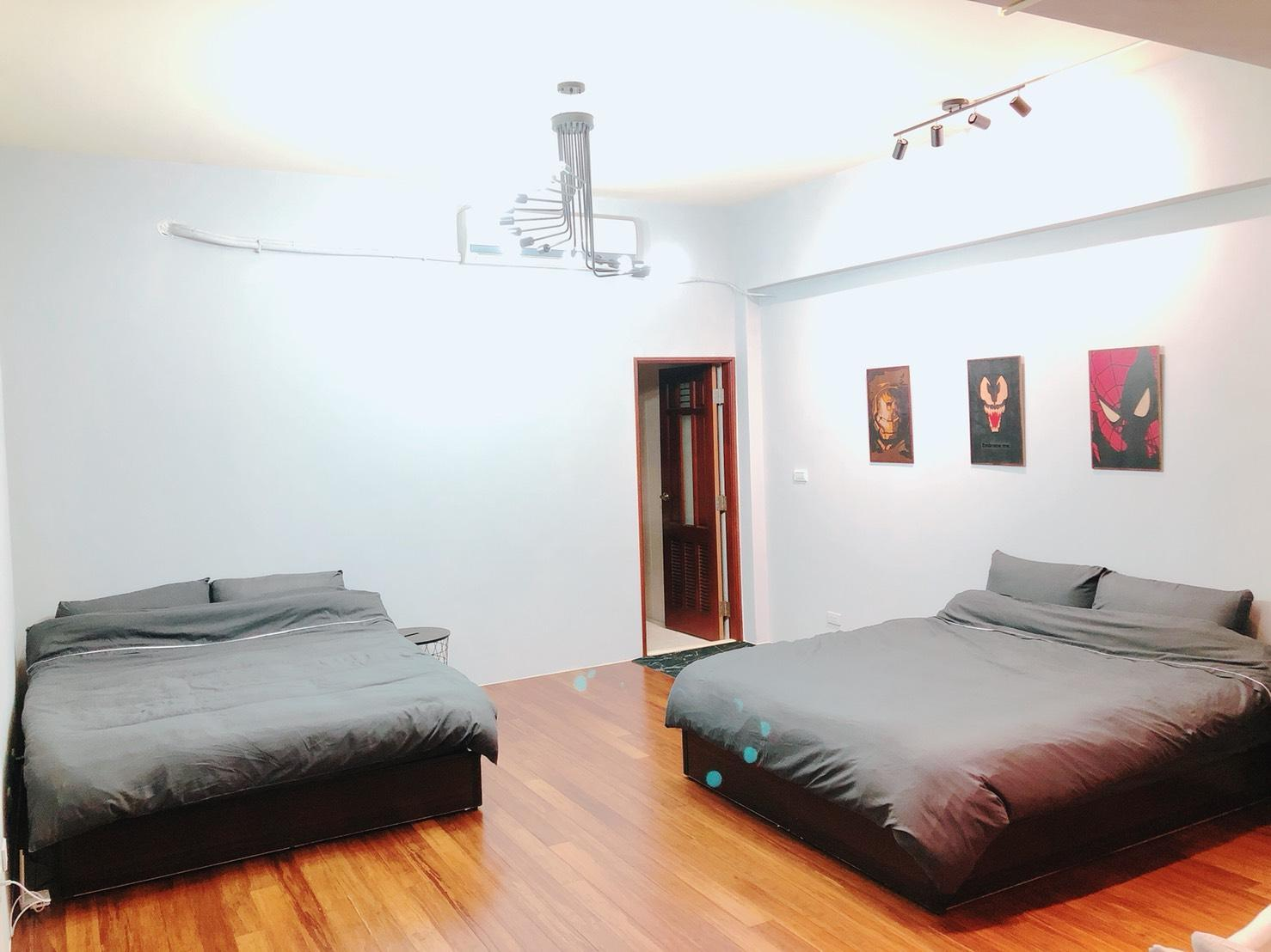 Noname 4F Large Suite  Full Floor Room Two Beds