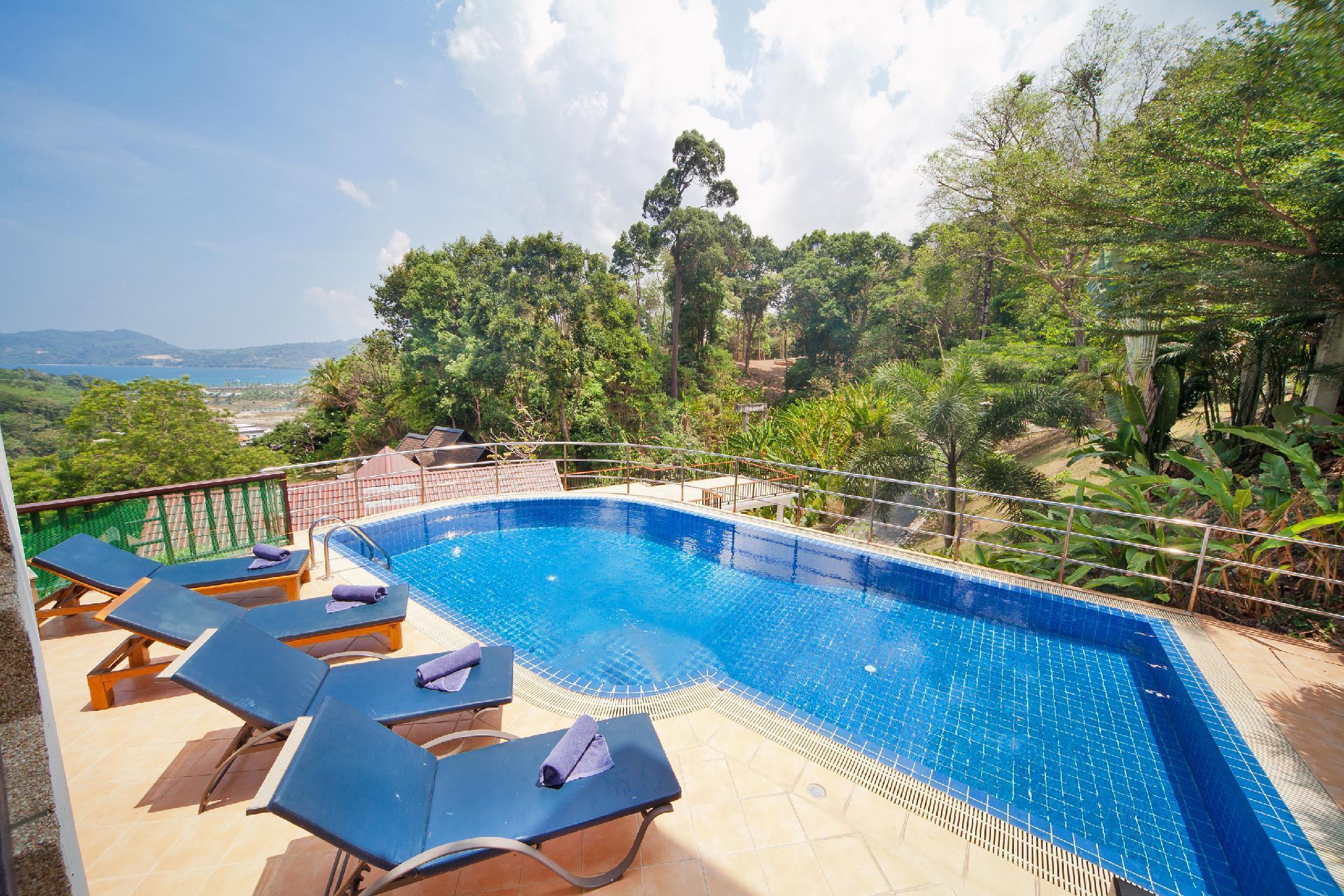 Patong Seaview Pool Villa, 2 living rooms, 5BR Patong Seaview Pool Villa, 2 living rooms, 5BR