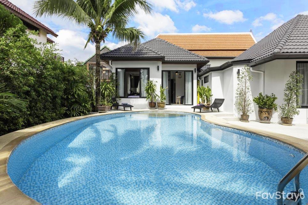 Kamala Cozy Pool Villa [3BR] Kamala Beach,Phuket วิลลา 3 ห้องนอน 3 ห้องน้ำส่วนตัว ขนาด 360 ตร.ม. – กมลา