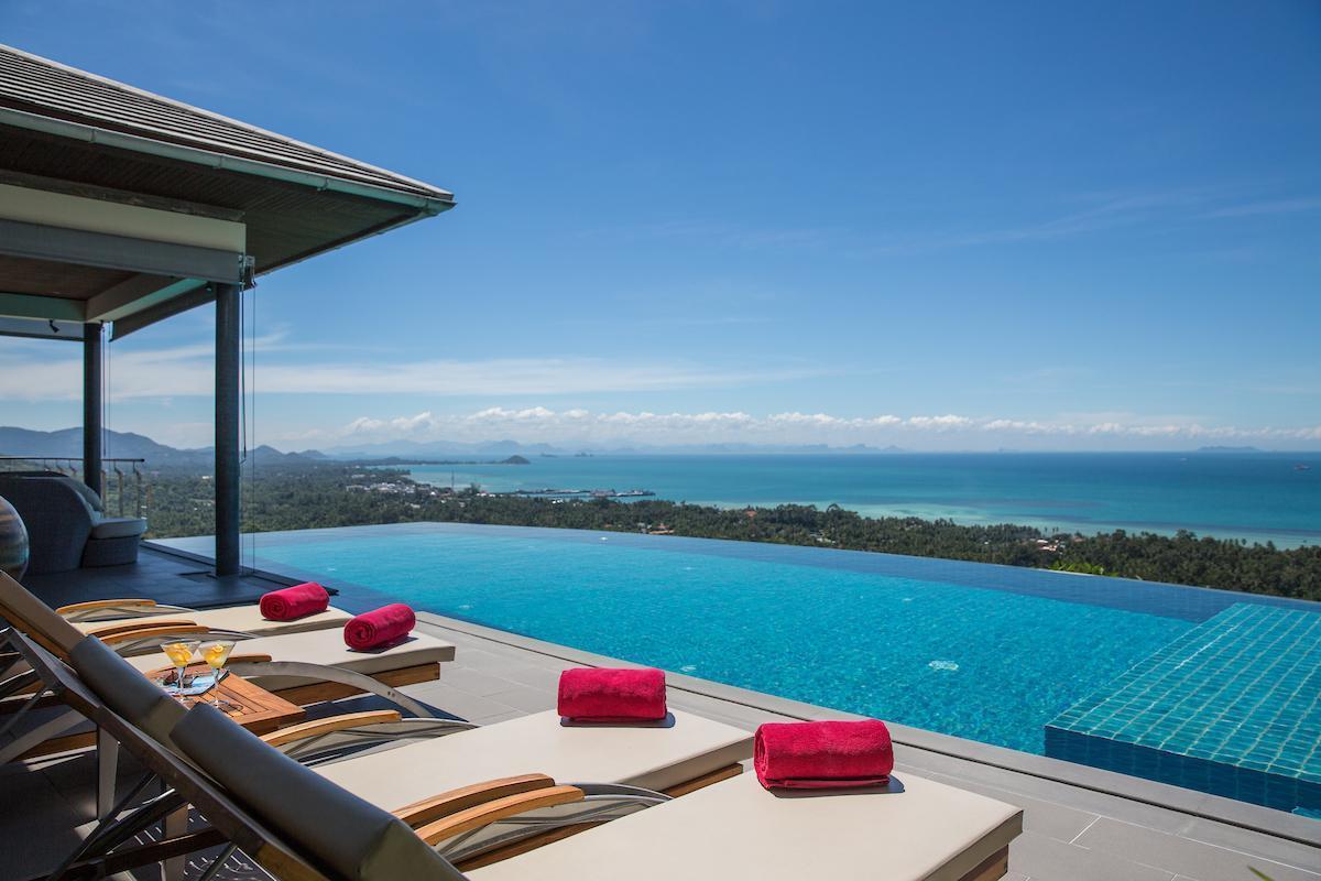 Baan View Talay - Classical luxury sea view villa วิลลา 4 ห้องนอน 8 ห้องน้ำส่วนตัว ขนาด 7000 ตร.ม. – หน้าทอน